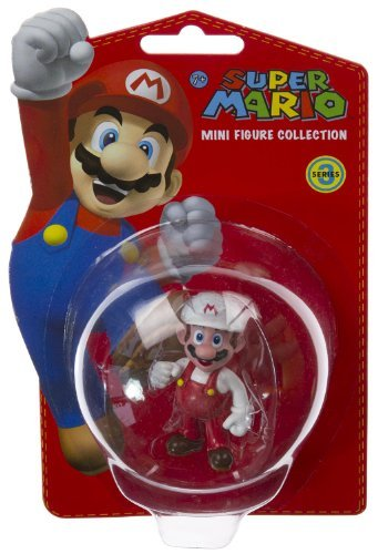 "Fire Mario (~2""): Super Mario Mini-Figure Collection Series #3 - 1"