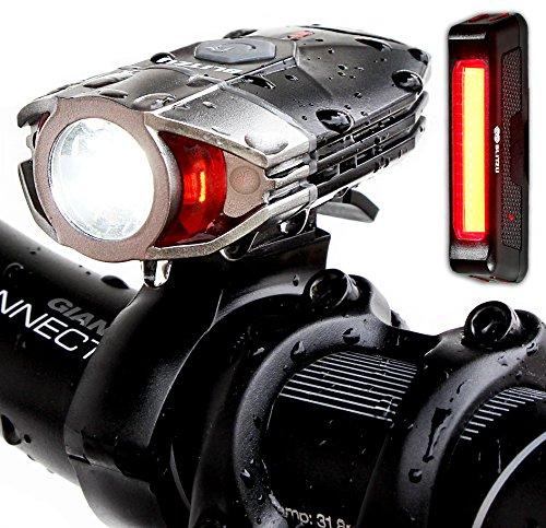 Super Bright USB Rechargeable Bike Light Set -