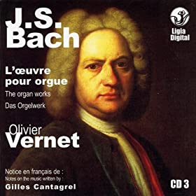 J.S. Bach The Organ Works, Das Orgelwerk, L'oeuvre Pour Orgue, Vol 3 of 15