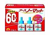 アース製薬 アースノーマット 60日用 取替えボトル 微香性 3本入