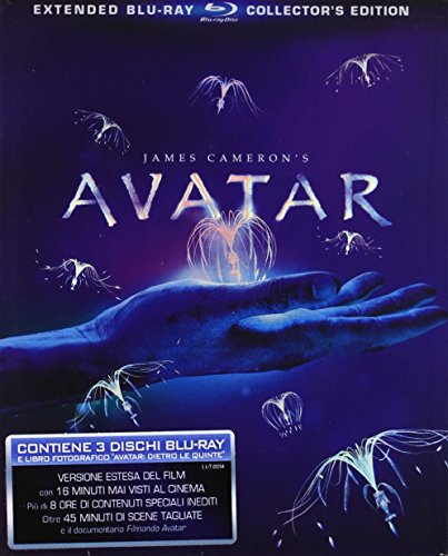 Avatar Extended 3 Blu Ray + Libro