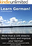 Learn German! More than 100 didactic...