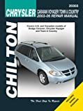 img - for Chrysler Caravan/Voyager/Town & Country, 2003 through 2006 (Chilton's Total Car Care Repair Manuals) book / textbook / text book