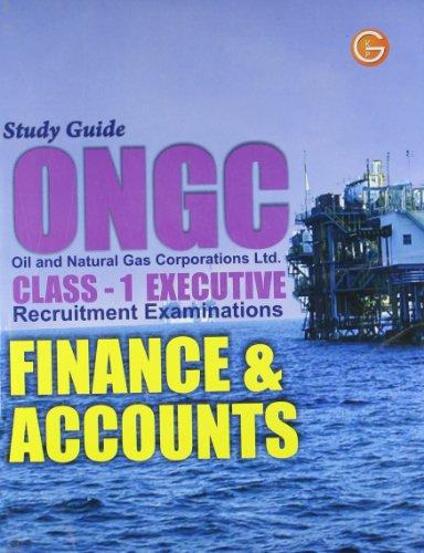 Study Guide ONGC Finance & Accounts Engineering (Class-1 Executive)