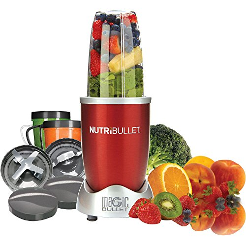 Magic Bullet NBR-1201R 12-Piece Hi-Speed Blender/Mixer System, Red (Magic Bullet Red compare prices)