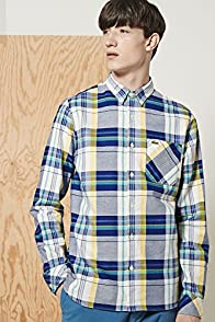 L!ve Long Sleeve Check Twill Woven Shirt