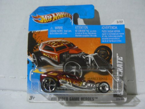 Hot Wheels HW Video Game Heroes 3/22 Surf Crate on Short Card - 1
