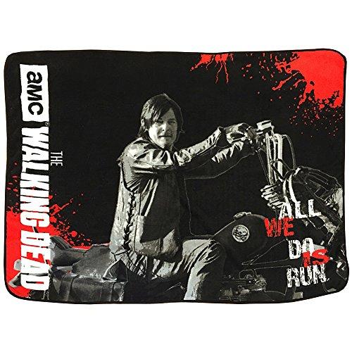The Walking Dead Daryl Dixon Chopper fleece throw blanket