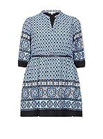 YUMI Curves Vestido Azul Marino ES 50 (UK 22)