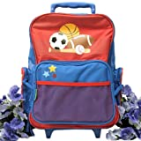 Great Arrivals Sibling Gift, Sports Rolling Luggage