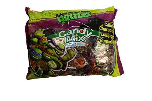 Teenage Mutant Ninja TURTLES Candy Mix Piñata Filler (Ninja Turtles Candy compare prices)