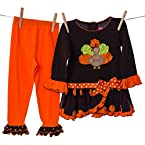 Turkey and Ruffles Legging Set