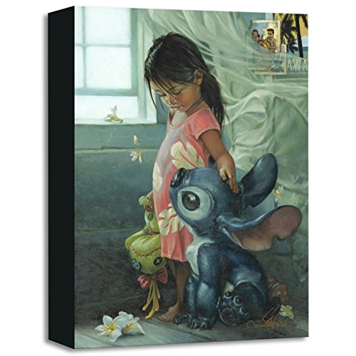 """Ohana Means Family"" Limited Edition Gallery Wrapped Canvas By Heather Theurer From The Disney Treasures Collection, With Coa."