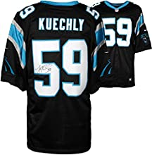 Luke Kuechly Carolina Panthers Autographed Nike Limited Black Jersey - Fanatics Authentic Certified - Autographed NFL Jerseys