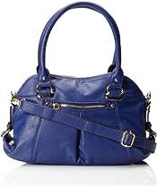 Anne Klein Trinity Medium Cross Body Bag,Indigo,One Size