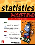 Statistics Demystified (0071431187) by Stan Gibilisco
