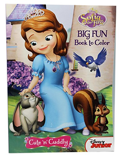 Sofia the First Big Fun Book to Color Cute 'n' Cuddly Coloring Book