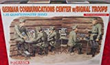 Dragon German Communication Center w/ Signal Troops 1:35 Quartermaster Series