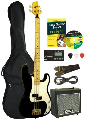 Bass Guitar Starter Pack For Dummies