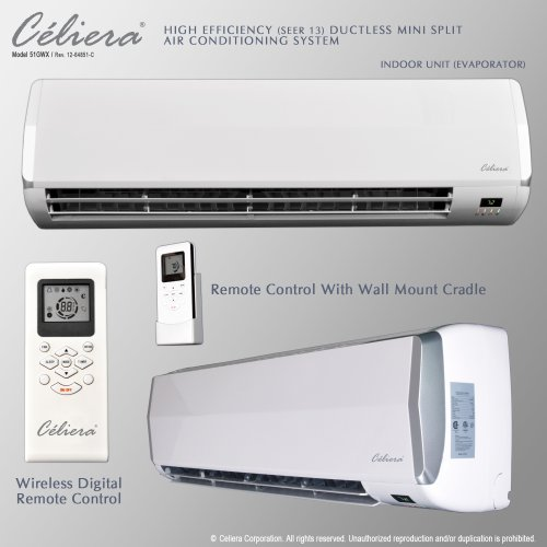 Best Buy Celiera 18000 BTU Ductless Mini Split Air Conditioner + ...