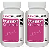 Raspberry Ketones Slimming Pills Duo Saver Pack | High Strength, Natural & Pure Ketones | 2 Months Supply | Innopure®