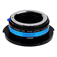Fotodiox Pro Lens Mount Adapter, Nikon G/DX Mount Lens to Sony FZ Mount Camera Adapter - fits Sony PMW-F3, F5, F55 Digital Cinema Camcorders and has Built-In Lens Aperture Control for Nikon Lenses from Fotodiox