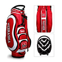 Brand New Nebraska Cornhuskers NCAA Cart Bag - 14 way Medalist by Things for You