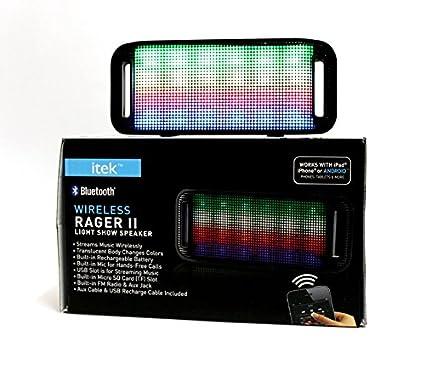I-Tek Wireless Rager II Bluetooth Speaker