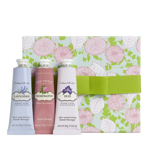 Crabtree & Evelyn Floral Hand Therapy Sampler 3x25g