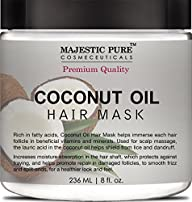 Coconut Oil Hair Mask From Majestic P…