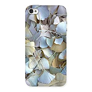 Impressive Beauty Leaves Back Case Cover for iPhone 4 4s