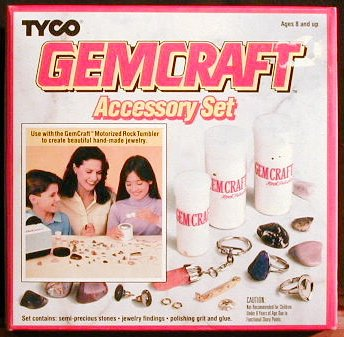 Gemcraft Accessory Set (1991) - Buy Gemcraft Accessory Set (1991) - Purchase Gemcraft Accessory Set (1991) (Tyco, Toys & Games,Categories,Learning & Education,Science,Rock Tumblers)
