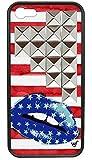 wildflower ( ワイルドフラワー ) ロサンゼルス の スター キス iphoneケース Star Kiss Silver Studded Pyramid iPhone 5 5s Case シルバー スタッズ ファブリック アイフォン ケース モバイル カバーiphone5 iphone5s pple 海外ブランド