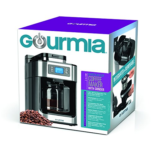 Built In Coffee Maker In Car : Gourmia GCM4500 Coffee Maker With Built In Grinder, Programmable 10 Cup Automatic Drip, Glass ...
