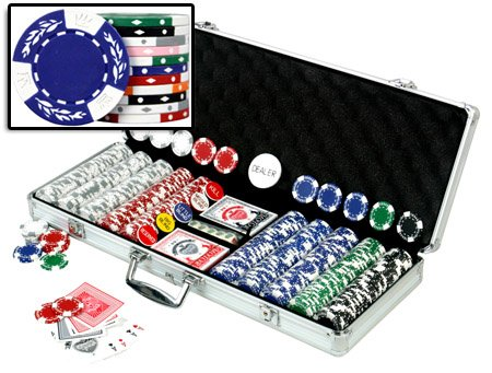 Best Price! Da Vinci Premium 500 Crown Wheatear Poker Chips Set