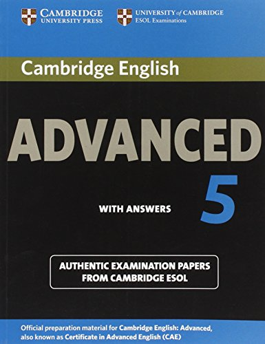 Cambridge English Advanced 5 Student's Book with Answers (CAE Practice Tests)
