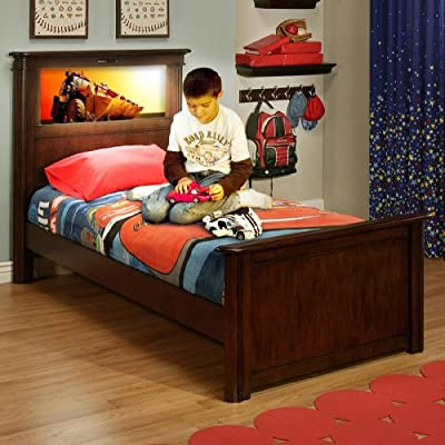 20141 LightHeaded Beds Cheshire Cherry Riviera Twin Bed