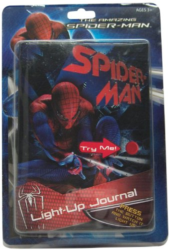Marvel Spiderman Light Up Journal - 1