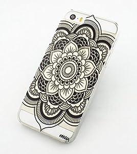 iphone 5c case clear plastic case cover henna full mandala tribal dream catcher. Black Bedroom Furniture Sets. Home Design Ideas