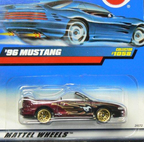 Mattel Hot Wheels '96 Mustang #1058 - 1