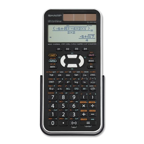Sharp Engineering/Scientific Calculator (EL-W516XBSL)