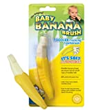 ORIGINAL BABY BANANA® TOOTH BRUSH FOR TODDLERS 2-pk