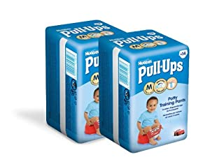 Huggies Pull Ups Convenience Garçon Taille 5  (11-18 kg) x 14 Couches Lot de 2