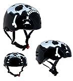 Acquista Sport DirectTM SHE12X Skull Casco Bici 56-58cm Junior BMX