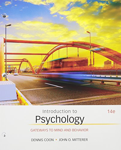 Bundle: Introduction to Psychology: Gateways to Mind and Behavior, 14th + LMS Integrated for MindTap Psychology, 1 term (6 months) Printed