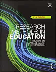 research methods in education 7th edition pdf