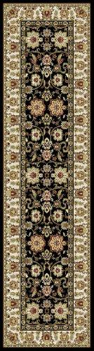 Kashmir Agra Black Rug 7'10