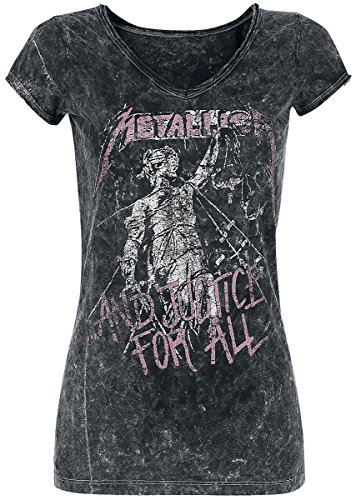 Metallica ...And Justice For All Maglia donna nero M