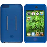 Theo&Cleo Blue Silicone Rubber Skin Gel Case For Ipod Touch iTouch 1 2 3 1st 2nd 3rd Gen G