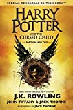 img - for Harry Potter and the Cursed Child - Parts One & Two (Special Rehearsal Edition Script): The Official Script Book of the Original West End Production by J.K. Rowling (2016-07-31) book / textbook / text book